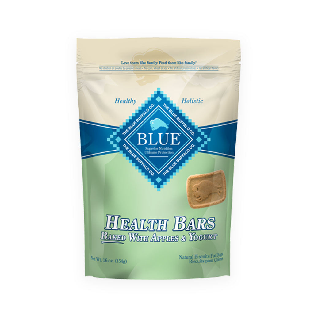 Blue Buffalo Baked Dog Health Bars Apple Yogurt