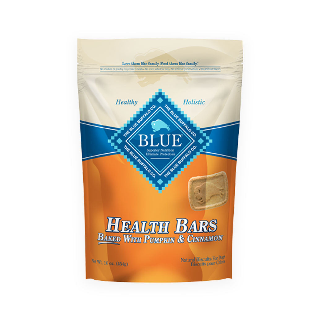 Blue Buffalo Baked Dog Health Bars Pumpkin Cinnamon