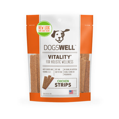 Dogswell Vitality Chicken Strips Treat