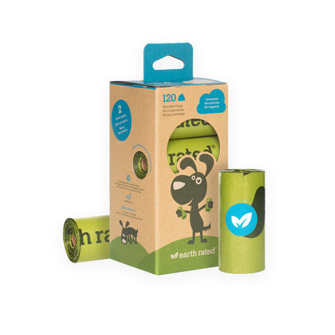 Earth Rated Unscented Dog Poop Bag Rolls