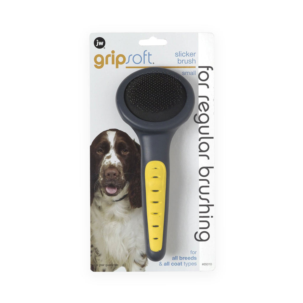 JW Pet Gripsoft Dog Groom Slicker Brush