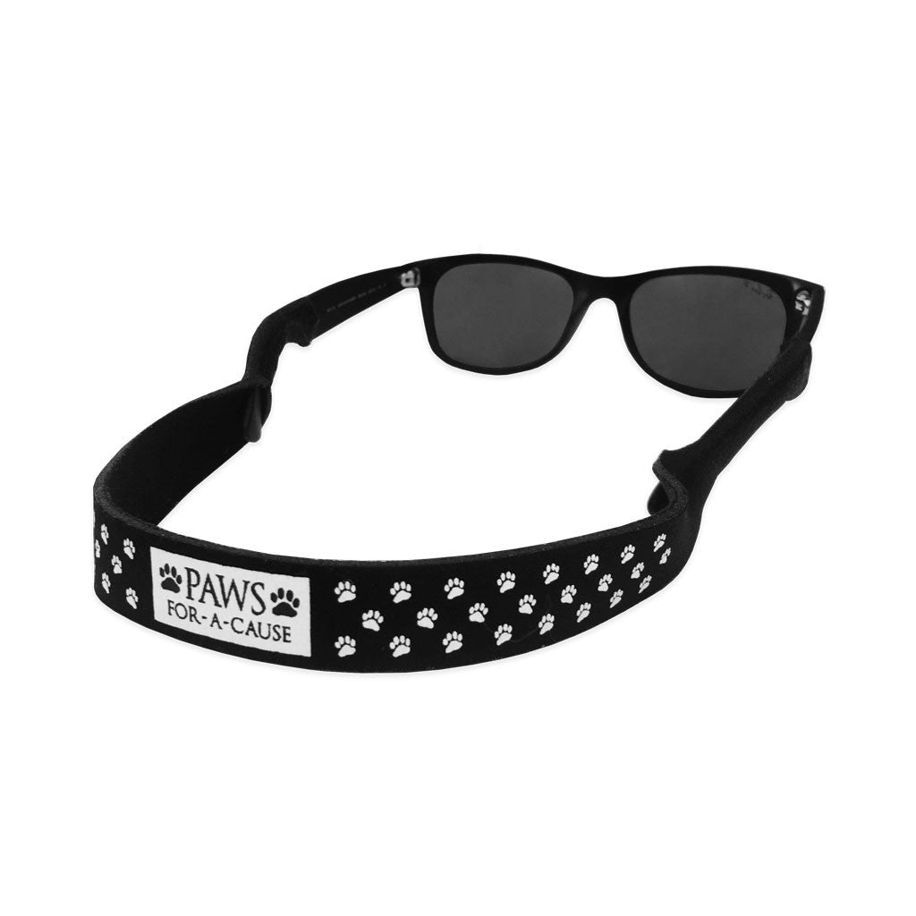Paws For A Cause Black White Sunglass Straps Croakies
