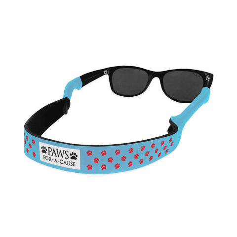Paws For A Cause Red White Blue Sunglass Straps Croakies