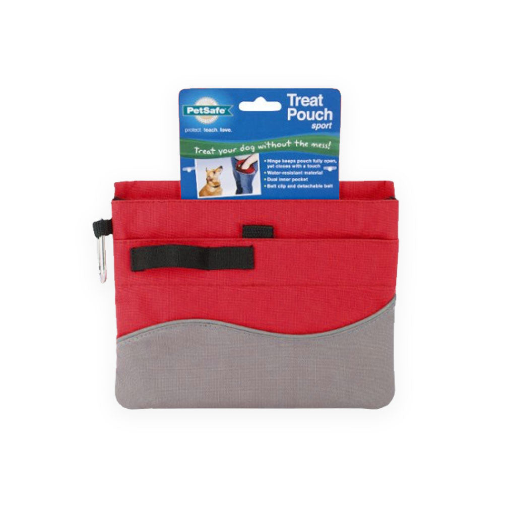 PetSafe Portable Red Treat Pouch Dog Training