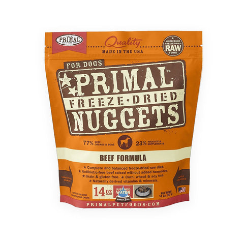 Primal Freeze Dried Beef Nuggets