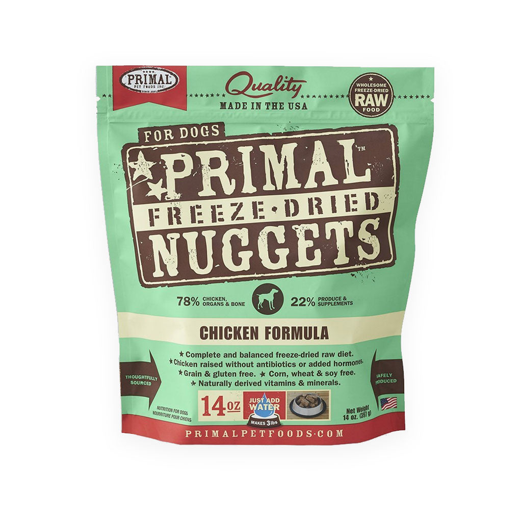 Primal Freeze Dried Chicken Nuggets