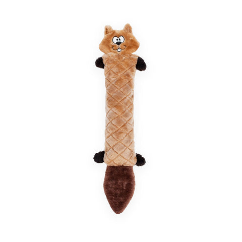 Zippy Paws Jigglerz Plush Squeak Dog Toy Chipmunk