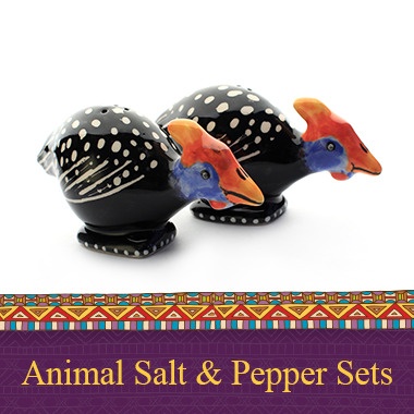 Animal Salt and Pepper Sets