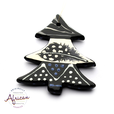 Ceramic Christmas Tree Decoration Ndebele