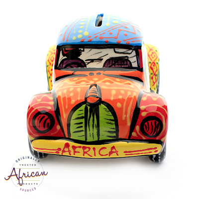 Ceramic VW Car Money Box