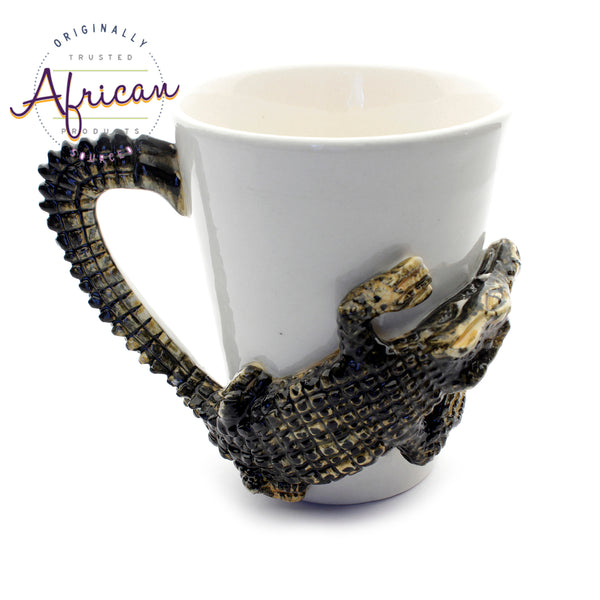 Ceramic 3D Coffee/Tea Mug - Crocodile