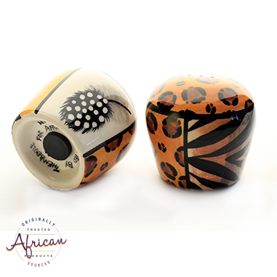 Ceramic Salt and Pepper Set Shona