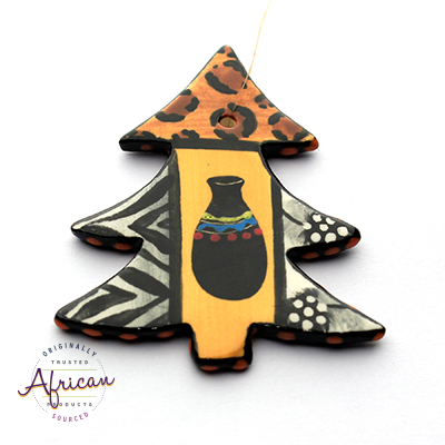 Ceramic Christmas Tree Decoration Shona