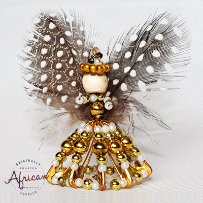 African Fairy Princess Christmas Decoration