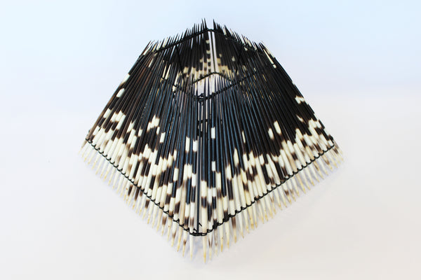 Porcupine Quill Pyramid Lampshade
