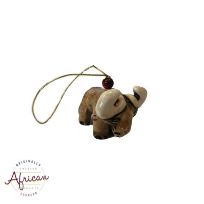 Ceramic Christmas Decoration Buffalo