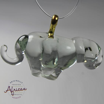 Ngwenya Glass - Leopard - Christmas Decoration