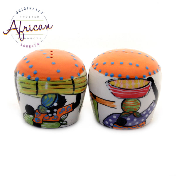 Ceramic Salt and Pepper Set Shashi