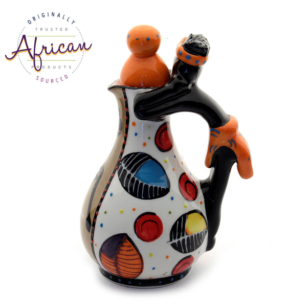 Ceramic Salad Dressing Bottles Khoi Khoi