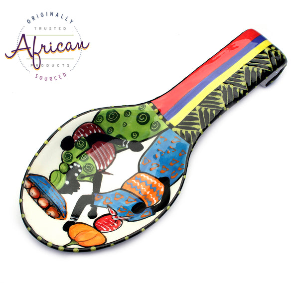 Ceramic Spoon Rest Shashi