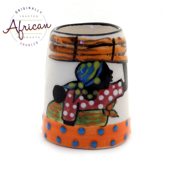 Ceramic Toothpick Holder Shashi