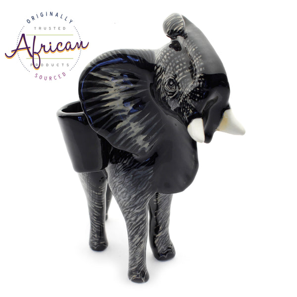 Ceramic 3D Toothpick Holder Elephant