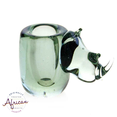 Ngwenya Glass - Rhino - Candle Holder