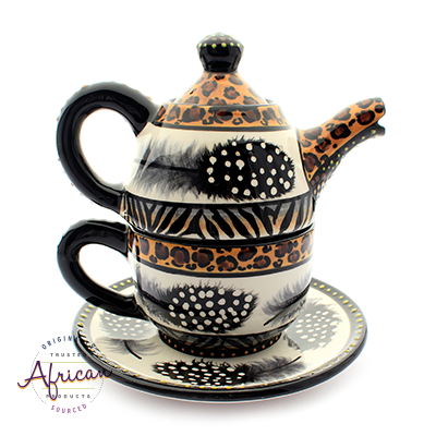 Ceramic Kerry Tea Set Tribal