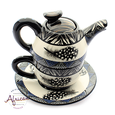 Ceramic Kerry Tea Set Ndebele