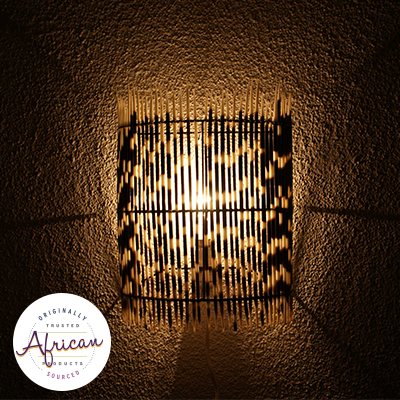 Porcupine Quill Wall Lampshade