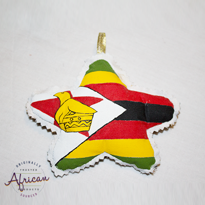 Zimbabwean Star Christmas Decoration