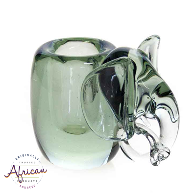 Ngwenya Glass - Elephant - Candle Holder