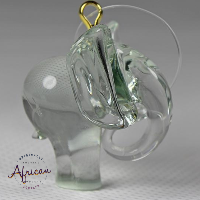 Ngwenya Glass - Elephant - Christmas Decoration