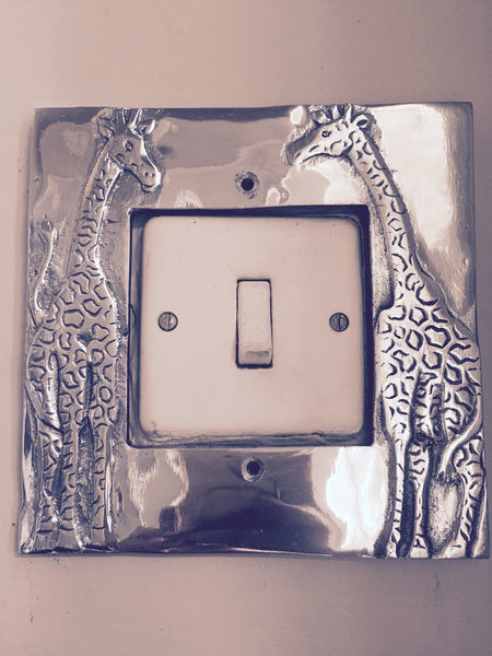 Simpli Simbi - Light Switch Frame (Giraffe)