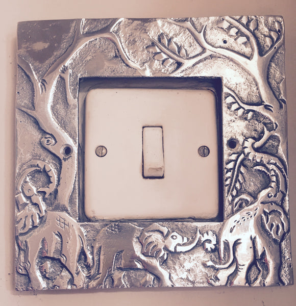 Simpli Simbi - Light Switch Frame (Elephant)