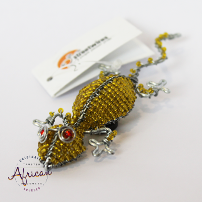 Beaded Magnet - Gecko/Lizard