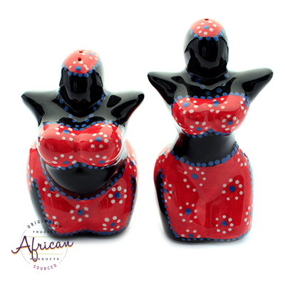 Mamma Salt and Pepper Set 6