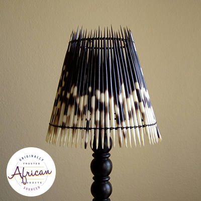 Porcupine Quill Bedside Lampshade