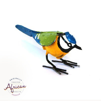 Recycled Metal Blue Titbird
