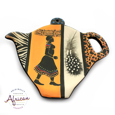 Ceramic Tea Bag Holder Shona