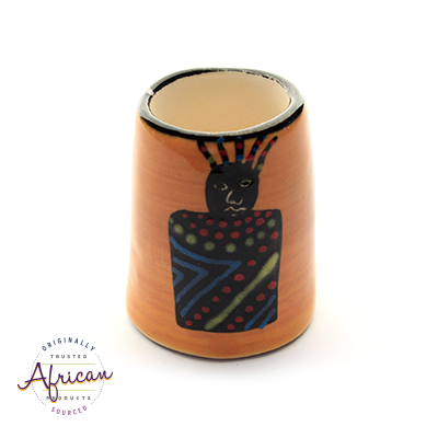 Ceramic Toothpick Holder Zulu