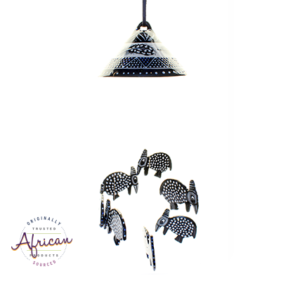 Ceramic Windchimes Ndebele