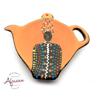 Ceramic Tea Bag Holder Zulu