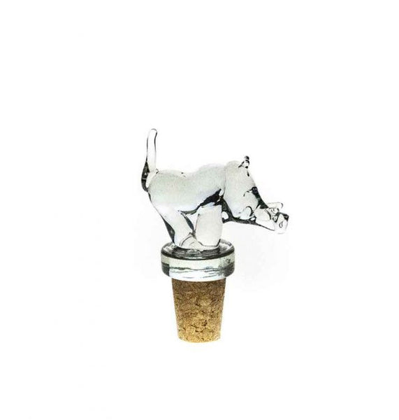 Ngwenya Glass - Warthog - Wine Stopper