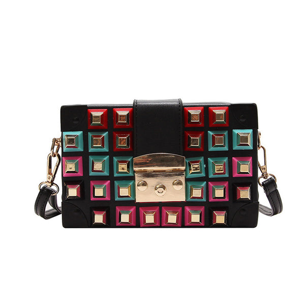 Mini Cube Cross Body Handbag