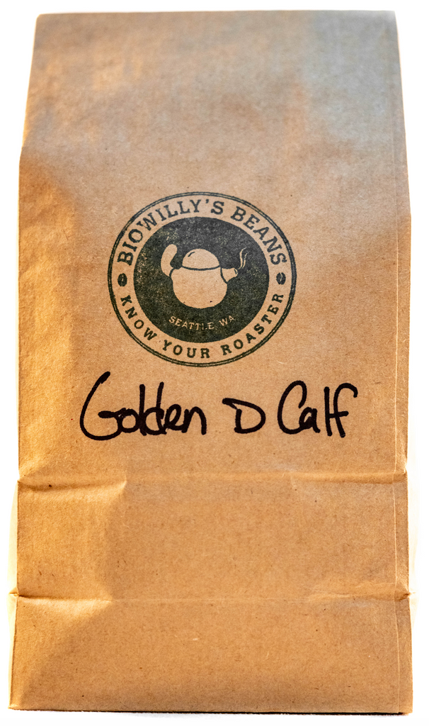 Golden D Calf--Organic--Honduras--Swiss Water Process