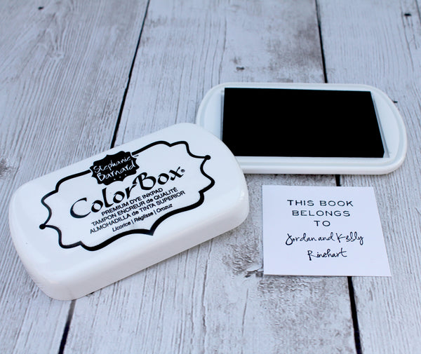 LICORICE / BLACK Color Box by Stephanie Barnard Dye Ink Pad