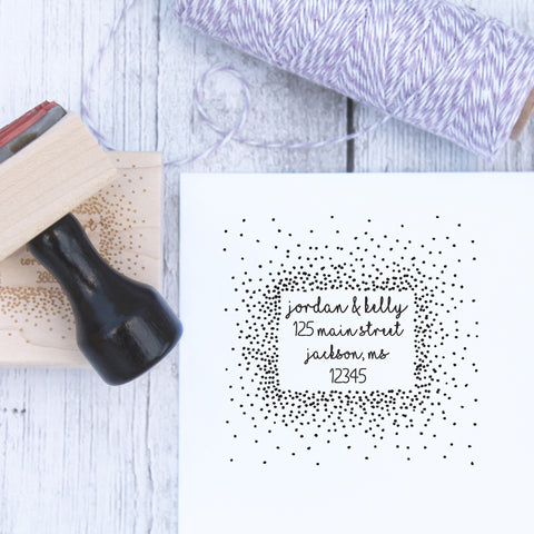 Stars in the Sky Custom Address Stamp