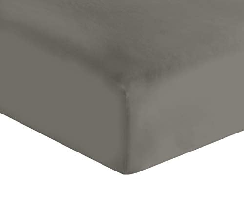 Fitted Sheet 400 Cal King Dark Grey