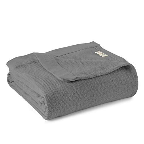 Blanket Full/Queen Dark Grey